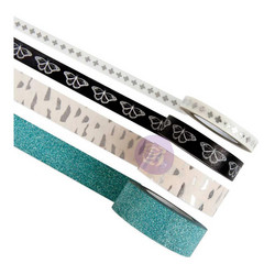 Prima Zella Teal Decorative Tape -teipit, 4 kpl