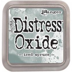 Distress Oxide -mustetyyny, sävy iced spruce