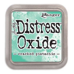 Distress Oxide -mustetyyny, sävy cracked pistachio