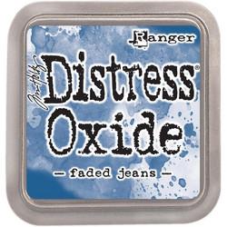 Distress Oxide -mustetyyny, sävy faded jeans