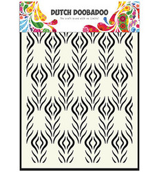 Dutch Doobadoo Floral Feather -maski