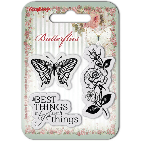 ScrapBerry's leimasinsetti Butterflies, Best Things