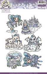 Yvonne Creations leimasinsetti Magical Winter