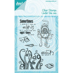 Joy! craftsin Under the Sea, Octopus -leimasinsetti