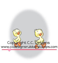 C.C.Designs leimasin Duckies