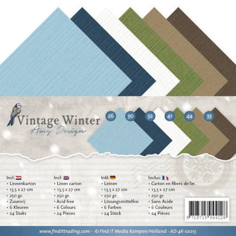 Amy Design Vintage Winter kartonkipakkaus