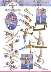 Precious Marieke 3D-kuvat Gymnastics