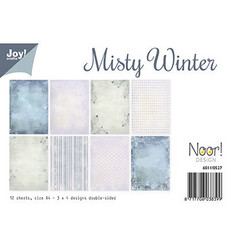 Joy! Crafts paperipakkaus A4 Misty Winter