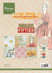 Marianne Design Fabulous Fifties -paperipakkaus