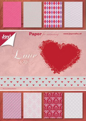 Joy! Craftsin Love -paperikko
