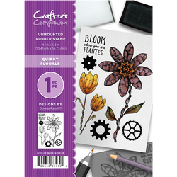 Crafter's Companion kumileimasin Quirky Florals