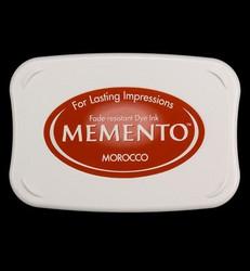 Memento musteetyyny, sävy Morocco