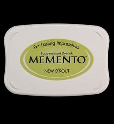 Memento musteetyyny, sävy New Sprout