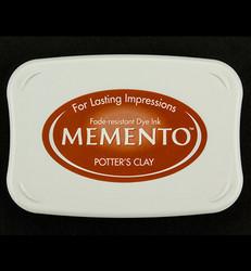 Memento musteetyyny, sävy Potter's Clay