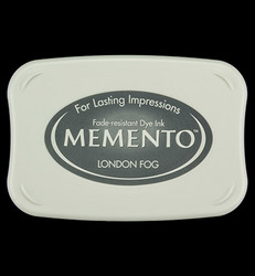 Memento musteetyyny, sävy London Fog