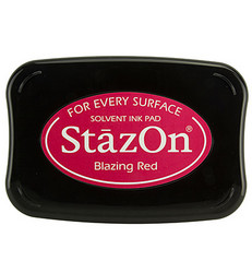 StazOn -leimasintyyny, sävy Blazing Red