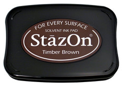 StazOn -leimasintyyny, sävy Timber Brown