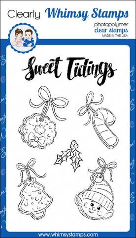 Whimsy Stamps Sweet Tidings -leimasinsetti