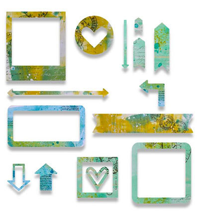 Sizzix Thinlits stanssisetti Frames