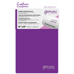 Gemini Junior Rubber Embossing Mat, kumimatto
