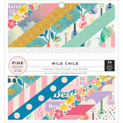 Pink Paislee paperikko Wild Child - Girl
