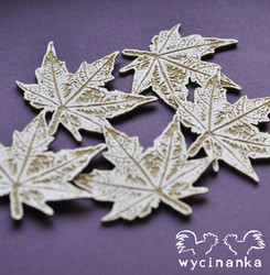 Chipboard kuvioleike, Look of the Nature - leaves 2