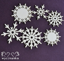 Chipboard kuvioleike, Winter Doodles 4