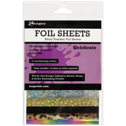 Ranger Foil Sheets Celebrate