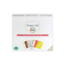 Project Life Core Kit Dreamy Edition, 616 osaa
