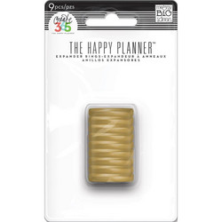 Mambi Happy Planner renkaat. Gold. 0.75