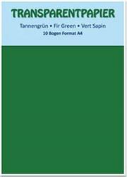 Kuultopaperi (vellum), vihreä, A4