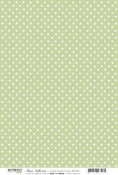 Reprint kartonki Light Green Stars