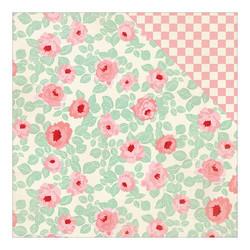 Authentique Fabulous skräppipaperi Retro Floral