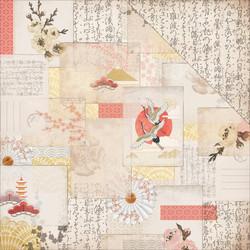 Kaisercraft Hanami Garden skräppipaperi Komoberi