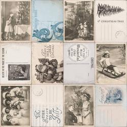 Kaisercraft Frosted kartonki Correspondence
