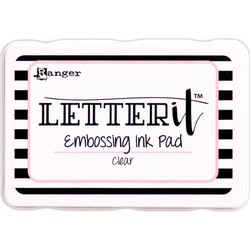 Ranger Letter It Embossing -mustetyyny