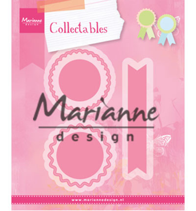 Marianne Design stanssisetti Rosettes and Labels