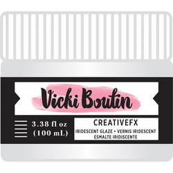 Vicki Boutin Mixed Media Creative FX Glaze, Iridescent, 100 ml