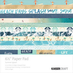 Kaisercraft paperikko Summer Splash
