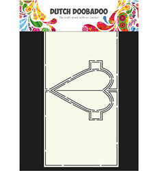 Dutch Doobadoo Card Art Heart Pop Up -sapluuna