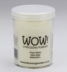 Wow! 160 ml -kohojauhe, sävy Clear Gloss, Ultra High (T)