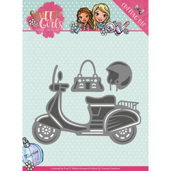 Yvonne Creations Sweet Girls stanssisetti Scooter