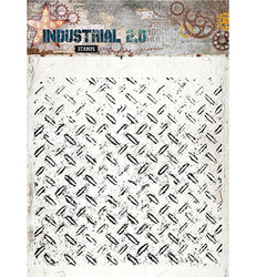 Studio Light Stamps taustaleimasin Industrial 2.0 nr.251