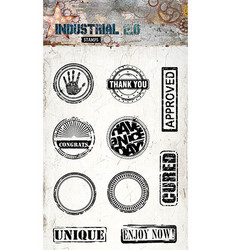 Studio Light Stamps leimasinsetti Industrial 2.0 nr.255