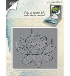 Joy! Crafts stanssi Pop Up Waterlily