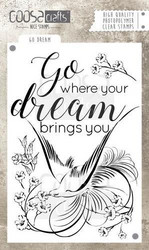 Coosa crafts leimasin Go Dream