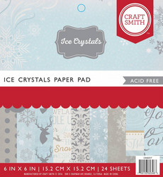 Craft Smith paperipakkaus Ice Crystals