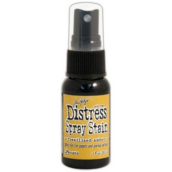 Distress Mini Spray Stain, sävy fossilized amber