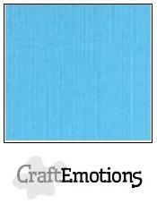 CraftEmotions kartonki 13.5 x 27, sävy aqua. 10 kpl
