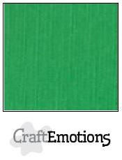 CraftEmotions kartonki 13.5 x 27, sävy vihreä. 10 kpl